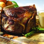 The 1 kg rib of beef