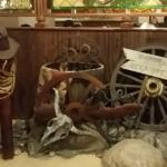 Western Scene as You Enter the Front Desk