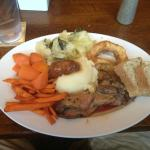 lunch carvery buffet