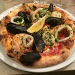 Pizza Franco. Belle et excellente.