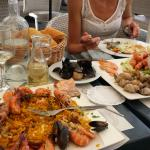 paella+plateau de fruits de mer