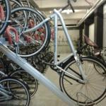 Local onde são guardadas as bicicletas para os hóspedes