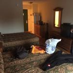 Das Zimmer - sehr geräumig