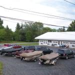 Plenty of parking for boats and trailers