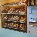 Bagel selection.