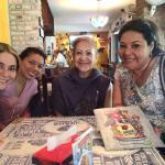 Juana en familia
