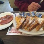 Yummy ham n french toast