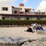 Punta Piedra from the beach