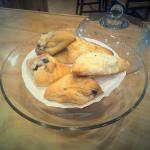 Homemade scones & turnovers made daily!