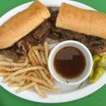 "12"" Italian Beef Platter - Served with our creamy Cole Slaw"