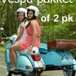 Hire Vespa or 2 pk/cv