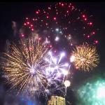 Shangri-La Bangkok spectac New Year's Eve fireworks