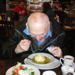 99 year old Artie says its the best matzo ball soup since Brooklyn