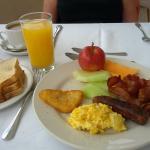 Sea Fans Breakfast Buffet. Suitably Sufficed