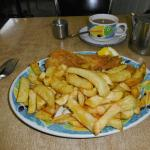 Excellent cod and chips