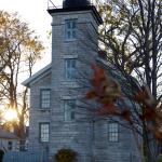 The lighthoues museum in Fall