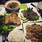 Excelente exquisita comida Tailandesa!