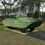 U.S. GMC 2 1/2 ton amphibious 6-wheel drive amphibious truck (DUKW); 1942-1945.