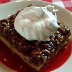 Toscakaka dessert