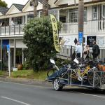 we Bring your party anywhere with our biketrailers 19 bikes per run