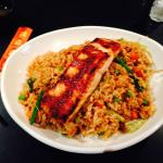 Endless Fried Rice Bowl with Salmon
