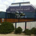 Entry to the Boat House Cafe