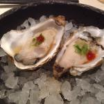 Oysters priced at 40kr each