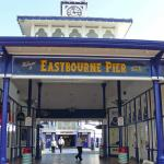Eastbourne Pier Entrance Fish and Chip Shop