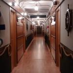 Otro de los pasillos, en plan marinero