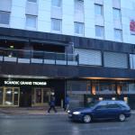 Hoofdingang hotel