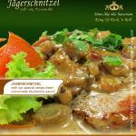 Jägerschnitzel im Saiboo German Restaurant Hua Hin Soi 94