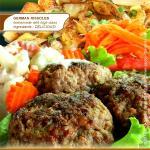 Frikadellen (Rissolles or Meatballs) im Saiboo German Restaurant Hua Hin Soi 94