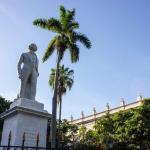 Plaza De Armas in Old Havana. The meeting point of the Old Havana tour.