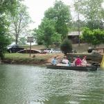 Redneck Yacht Club Canoe & Kayak Rentals Campground & Cabin Rentals Launch Area