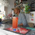 Joan's Rum Punch at Oasis Beach Bar Rockley Barbados
