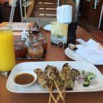 Sate Ayam Gaya Indonesia