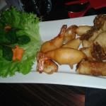 assiette frit 2 personnes(entamée!!!)