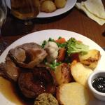The children took me out for Mothering Sunday lunch what a really nice meal from the starters to