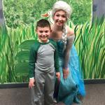 Meeting Elsa at Amazone!