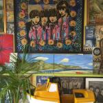 The Beatles memorabilia is amazing!