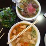 Seafood and special pho soup