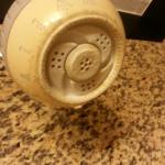 Dusty, dirty, and just plain grimy.  So sad! If not for the terrible housekeeping practices, thi