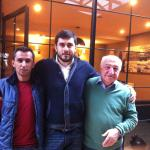 """Mr.Emre """"Middle"""", Mr. Nazif """"Right"""" and Mr. Mustafa"""