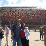 Auz group, Jburg, Soweto tour with Alina, Guide...