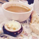 Soup and roll