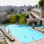 David Citadel Hotel Pool Facing Old City