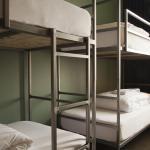 Bunks in 4 & 6 bed dorm- linen is always included in price