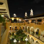 A night view from Hotel Caribe.