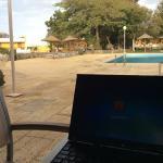 pormenor a trabalhar com wifi gratis na piscina