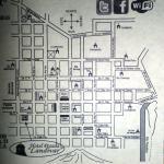 Mapa de ubicacion y llegada con vehiculo desde Cd. de Guatemala
